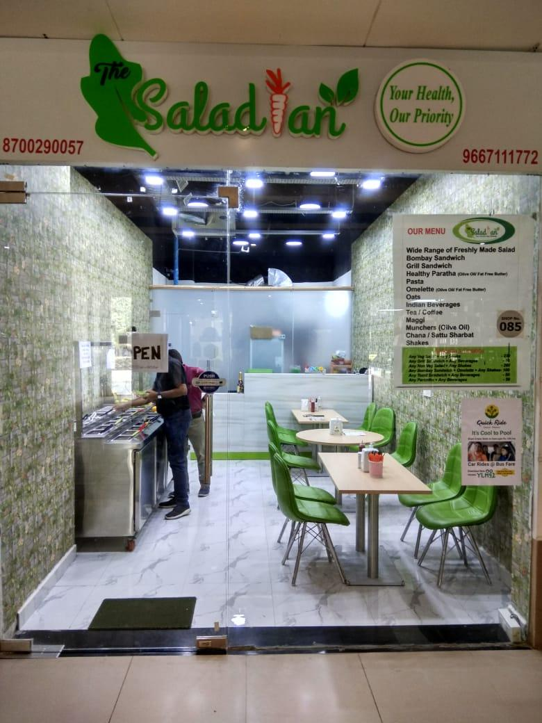 The Saladian A Continental Restaurant